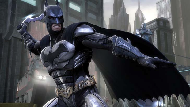 A screenshot from Injustice: Gods Among Us.