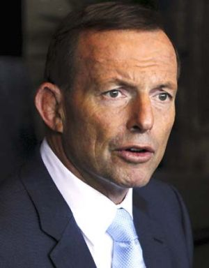 Putting tax offsets on the table: Tony Abbott.