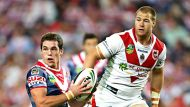 Roosters thump Dragons (Video Thumbnail)