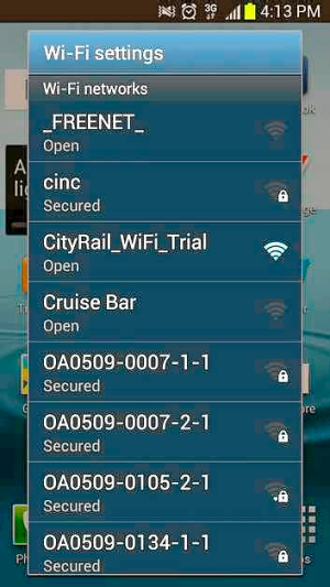 Surf for Free: CityRail offers free Wi-Fi on platforms one and two at Sydney's Circular Quay station.