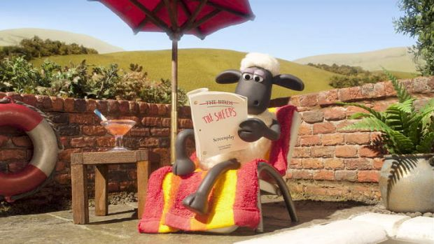 Ready to hit the big screen: Shaun the Sheep.
