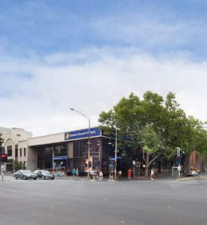 The Cancer Council building in Carlton.