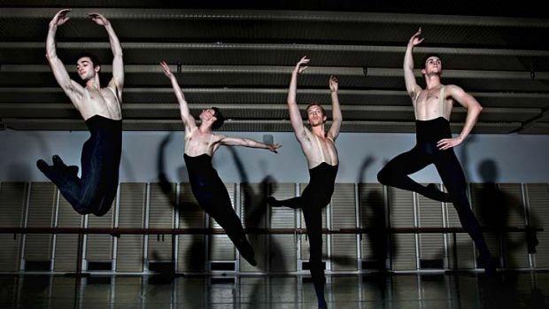 Quantum leap: The number of men taking up ballet dancing has soared in recent years, although they say they still have ...