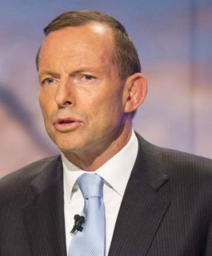 Snubbed one of the Islamic community's most important celebrations: Liberal Opposition Leader Tony Abbott.