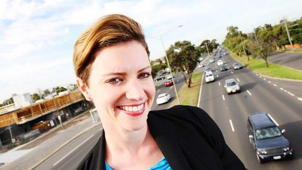 Loser: Katie Hall lost a preselection battle in the once safe Labor seat of Gellibrand in Victoria.