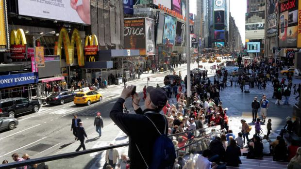 Target: New York's Times Square, where the Boston Marathon bombing suspects had planned to blow up their remaining ...