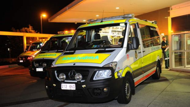 ACT Ambulance Service.