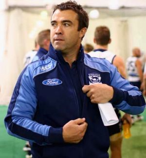 Proactive leader: Chris Scott is making Geelong an even more formidable force this season.