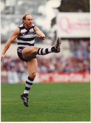 Geelong footballer Gary Ablett in 1994 .