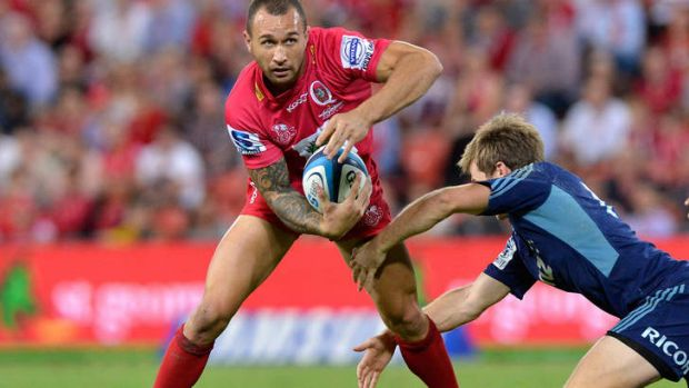 The difference on the scoreboard: Quade Cooper.