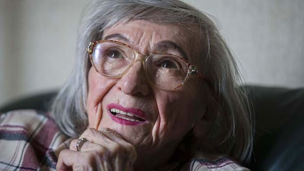 Still haunted ... One of the food testers of Adolf Hitler, Margot Woelk, finally reveals her past.