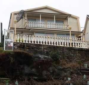 The mansion of Onn Mahmud's family in Sydney's Vaucluse.