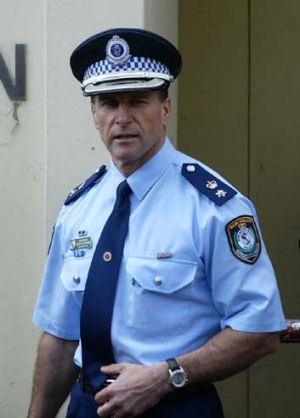 Fed up: Acting Assistant Commissioner Arthur Katsogiannis.