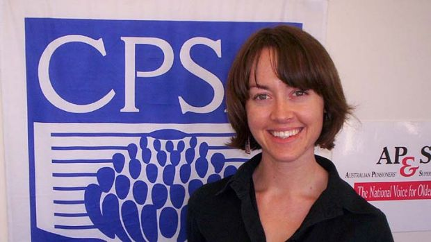 Warning: Charmaine Crowe, senior policy advisor for the Combined Pensioners and Superannuants Association.