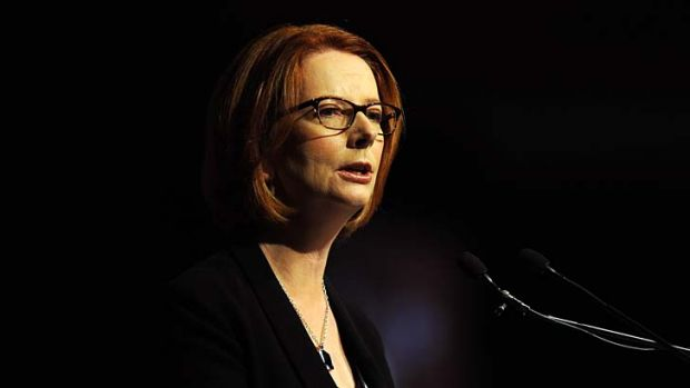 Hobson's choice: Julia Gillard.