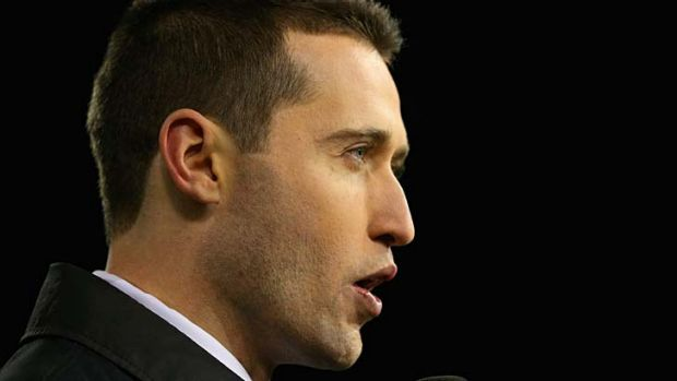 Tom Waterhouse: Discussing another defamation suit.