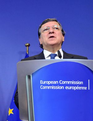 European Commission President Jose Manuel Barroso ... put the austerity question back on the agenda by suggesting it had ...