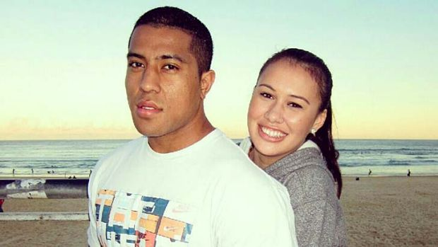 Life lost: Shanice Alaiasa found Mosese Fotuaika dead in the garage of their home.