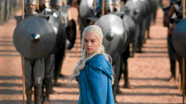 Daenerys' army marches forward.