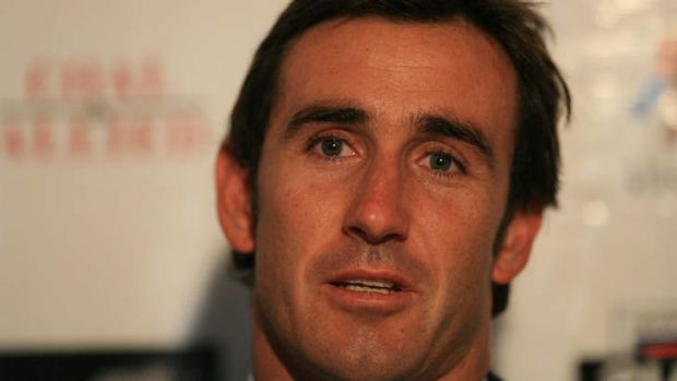 Ready to front inquiry: Andrew Johns.