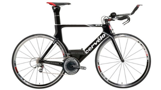 Stolen ... the  black Cervelo racing bicycle is valued at approximately $10,000.