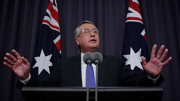Treasurer Wayne Swan: Take away tax breaks and spending, and you risk alienating voters.