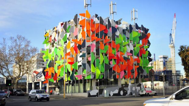 Melbourne's Pixel building, the first carbon neutral office building in Australia.