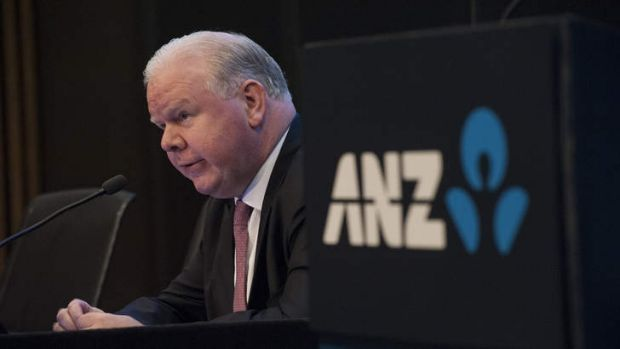 ANZ chief executive Mike Smith: Outlook subdued.
