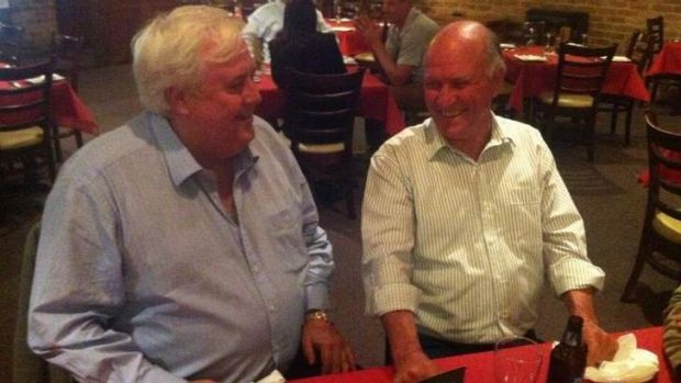 Clive Palmer and Tony Windsor
