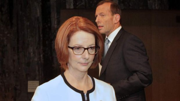 Prime Minister Julia Gillard and Opposition Leader Tony Abbott are engaged in brinkmanship over a levy to fund the NDIS.