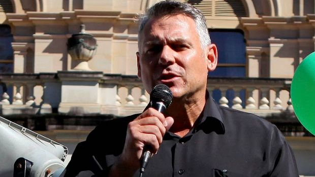 United Australia Party candidate Rob Messenger.