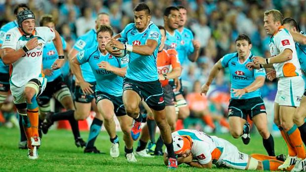 He's back: Peter Betham is this week's beneficiary of Waratahs coach Michael Cheika's back-three rotation policy.