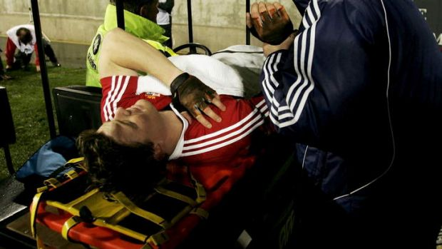 Wounded Lion: Skippering the Lions in 2005, O'Driscoll sustained a dislocated shoulder in the first minutes of the first ...