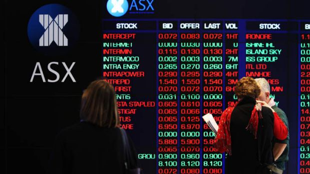 Market darlings like the big banks and Telstra were hit particularly hard today.