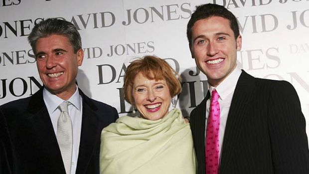 To appear: (from left) Robbie, Gai and Tom Waterhouse.