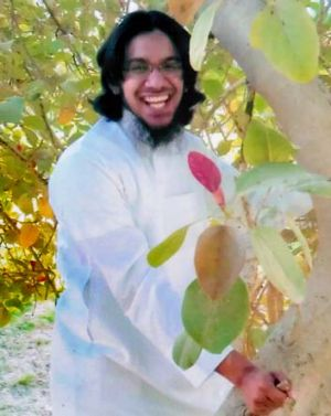 Shayden Jamil Thorne was put in prison on terrorism charges in Saudi Arabia.