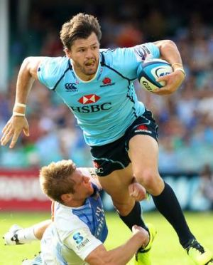 Daryl Gibson prefers Adam Ashley-Cooper, pictured, at No. 13.
