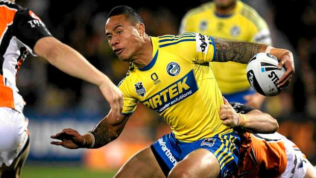 Free to roam: Parramatta's Ben Roberts is off contract at the end of this season, but could be released before that by ...