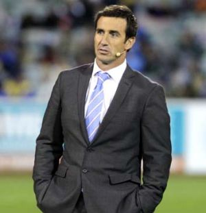 Key player: The drama surrounding More Joyous involves Andrew Johns.