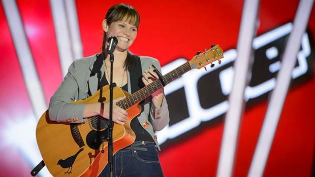 Bonanza viewing: Contestants like Anna Weatherup have drawn millions of viewers for <i>The Voice.</i>