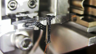 Robotic fly takes to the (laboratory) sky (Video Thumbnail)
