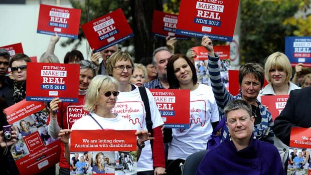 Nearly there: The NDIS is a step closer with bipartisan support for a levy.