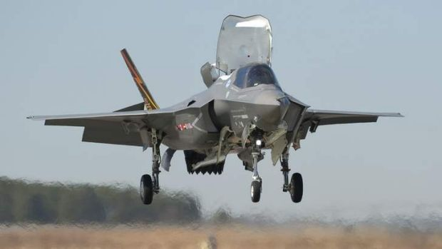 A Joint Strike Fighter.
