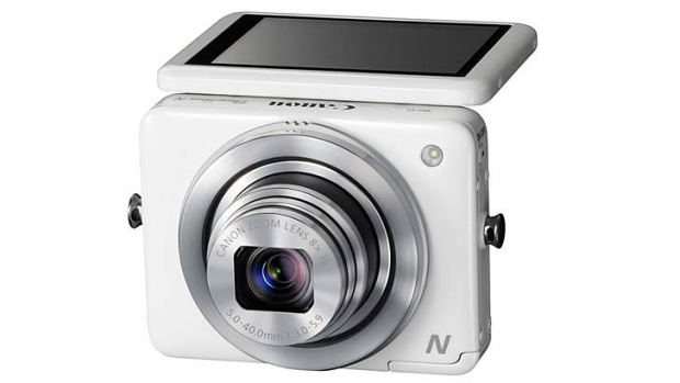 Canon N: The camera-maker has thrown down the gauntlet to smartphones.