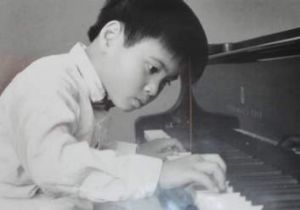 Hoang Pham as a child prodigy.