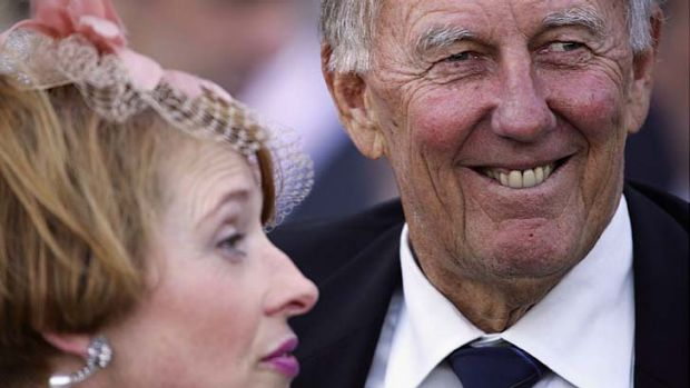 Falling out: Gai Waterhouse and John Singleton face an inquiry at Racing NSW headquarters on Monday.