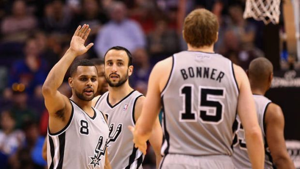 Ready to impress ... Patty Mills.