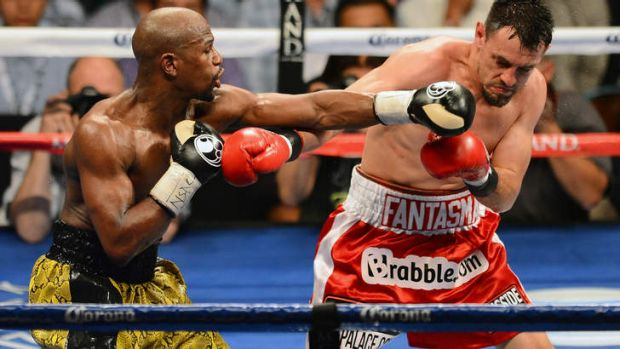 Floyd Mayweather Jr was booed during his fight with Robert Guerrero.
