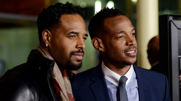 Shawn (left) and Marlon Wayans delivered an entertaining if unsophisticated show.