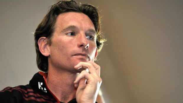 James Hird on Monday.